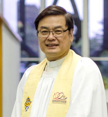 黄甘霖牧师